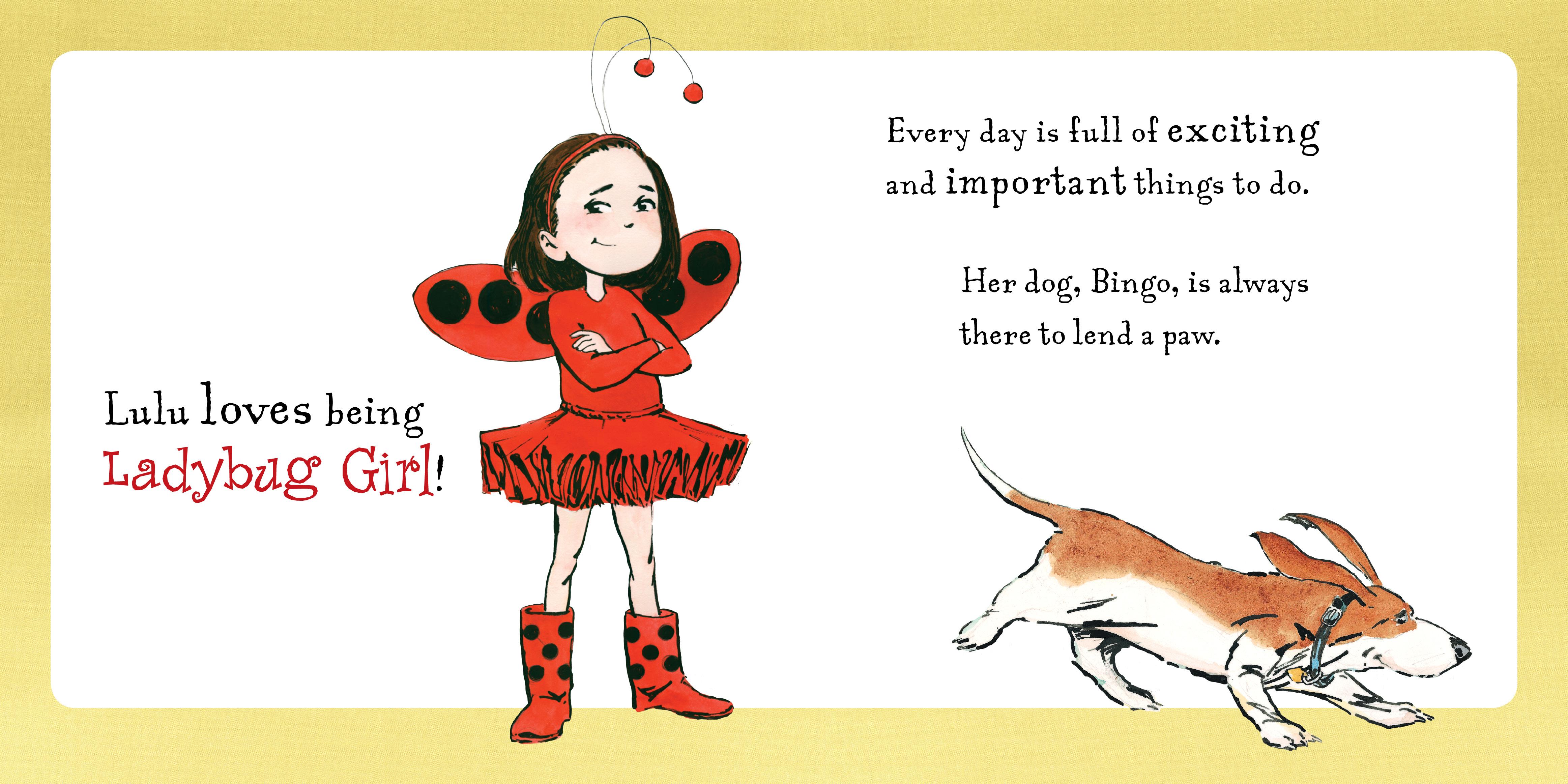 Ladybug Girl Loves: Jacky Davis, David Soman