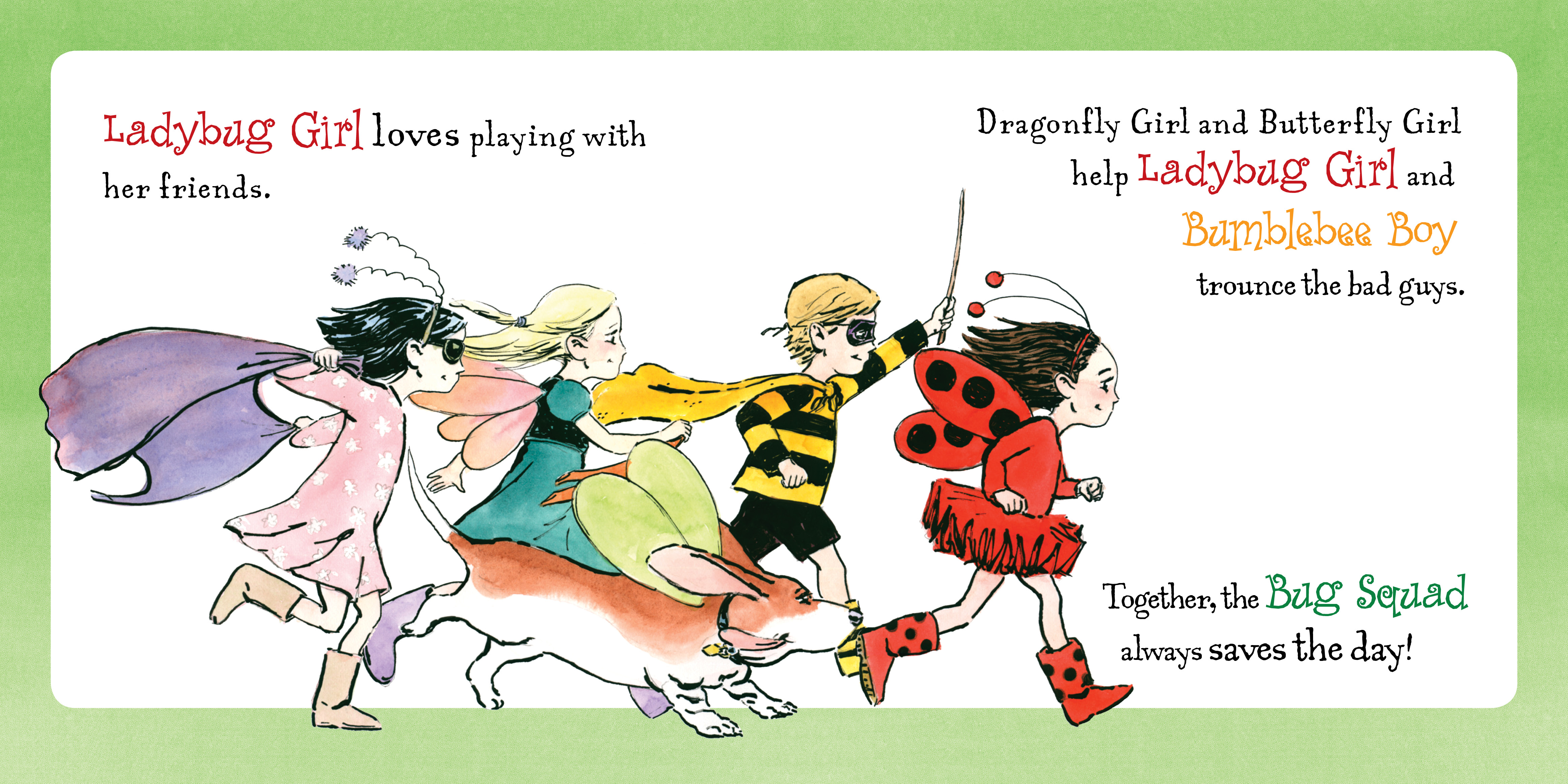 Ladybug Girl Loves: Jacky Davis, David Soman: 9780448453743: Amazon