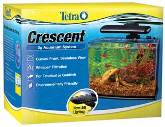 Crescent Acrylic Aquarium Kit