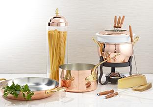 Warm Glow: Copper & Wood Kitchen!