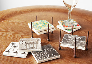 Put Your Drink Down: Decorative Coasters