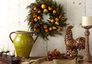 The Harvest Home: Fall Florals