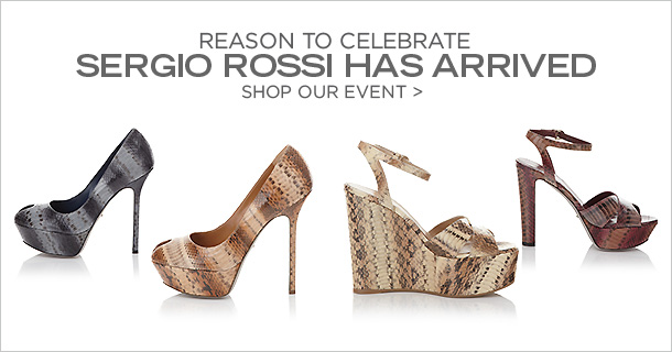 SERGIO ROSSI, Event Ends February 27, 12:00 PM PT