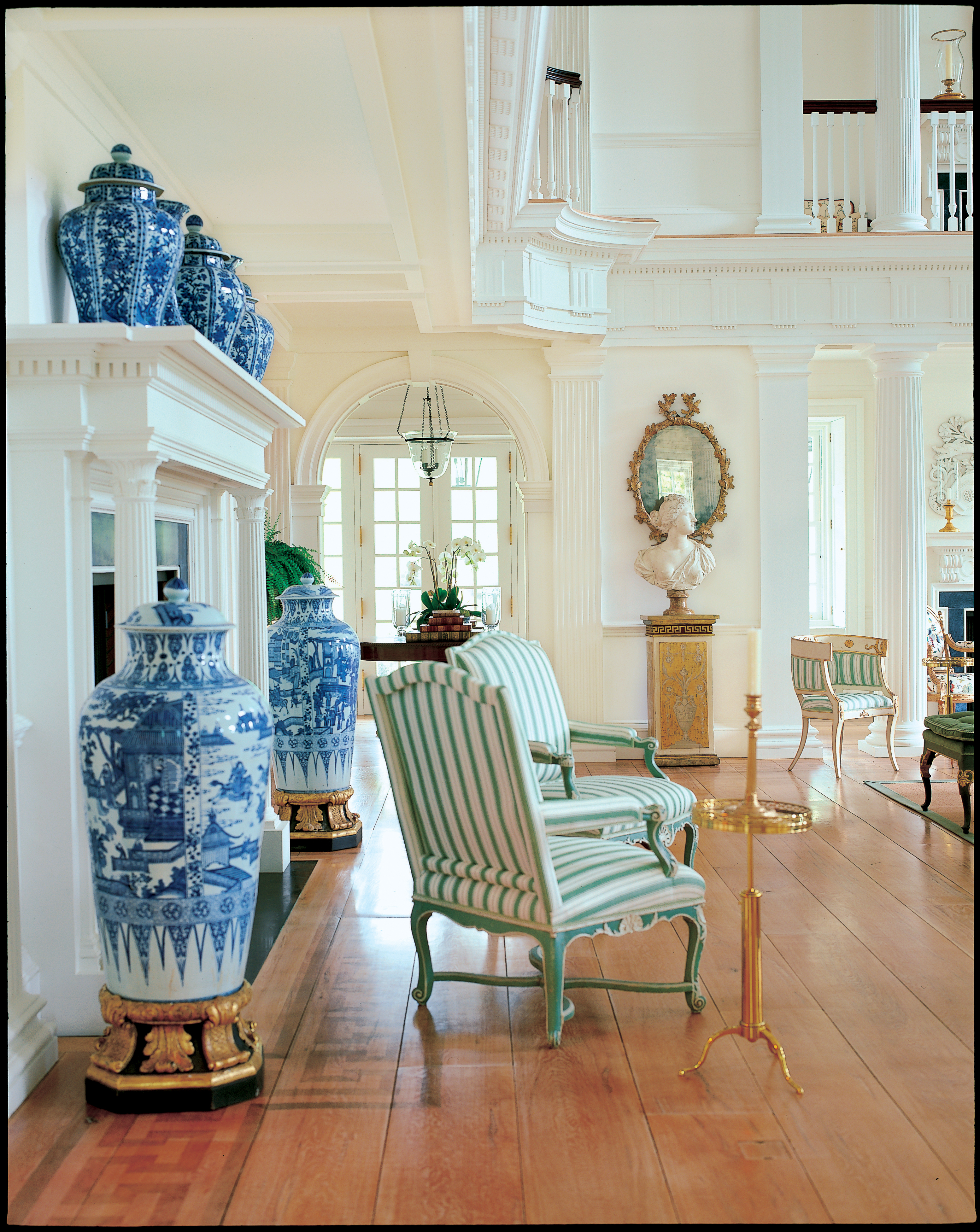 A Passion For Blue And White Carolyne Roehm
