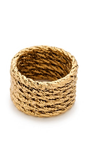 Aurelie Bidermann Multi Lasso Ring