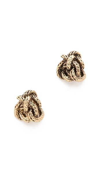 Aurelie Bidermann Knot Earrings