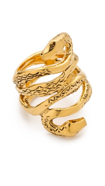 Aurelie Bidermann Mamba Snake Ring