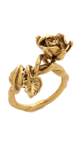 Aurelie Bidermann Majorelle Gardens Ring - Gold at Shopbop / East Dane