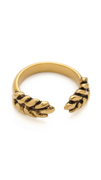 Aurelie Bidermann Wheat Cobs Ring - Gold at Shopbop / East Dane