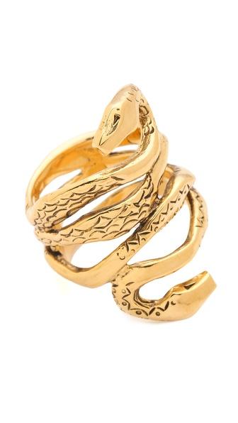 Aurelie Bidermann Mamba Ring