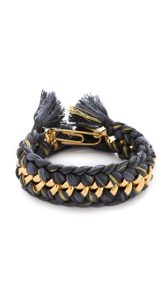 Aurelie Bidermann Do Brasil Bracelet - Charbon at Shopbop / East Dane