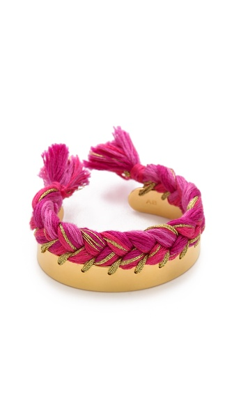 Aurelie Bidermann Copacabana Bracelet - Pivoine at Shopbop / East Dane