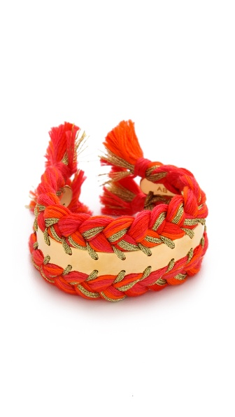 Aurelie Bidermann Copacabana Bracelet - Geranium at Shopbop / East Dane