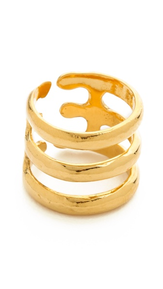 Aurelie Bidermann Esteban Ring - Gold at Shopbop / East Dane