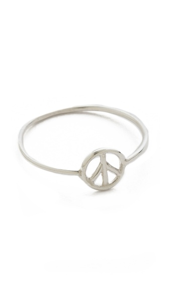 Aurelie Bidermann Peace Ring