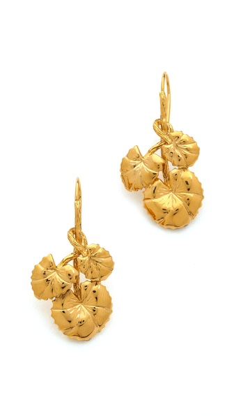 Aurelie Bidermann Nympheas Earrings
