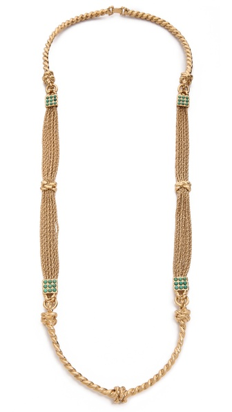 Aurelie Bidermann Palazzo Long Necklace