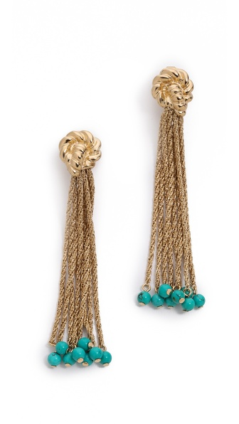 Aurelie Bidermann Palazzo Clip On Earrings