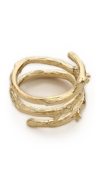 Aurelie Bidermann Rosebud Ring