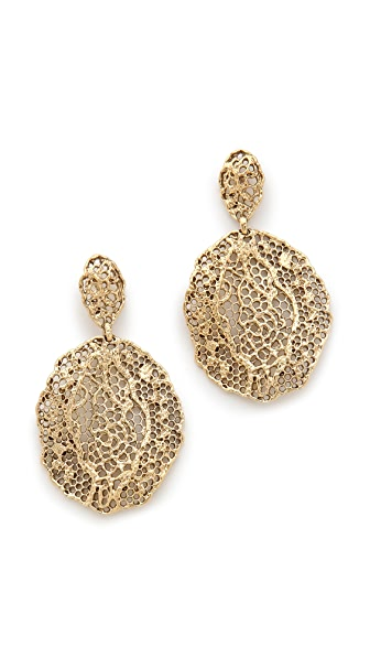 Aurelie Bidermann Lace Earrings
