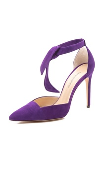 Alexandre Birman Leena Ankle Tie Pumps