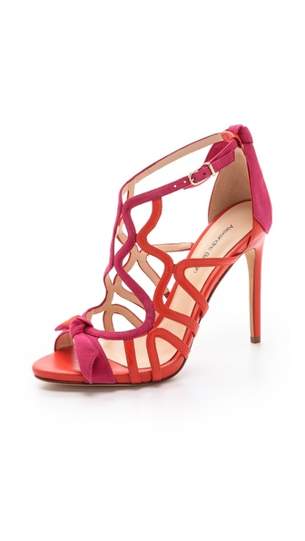 Alexandre Birman Caged Stiletto Sandals - Hortensia/Dalia at Shopbop / East Dane