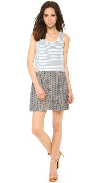 Ace&Jig Play Dress - Railroad W/Ditsy at Shopbop / East Dane