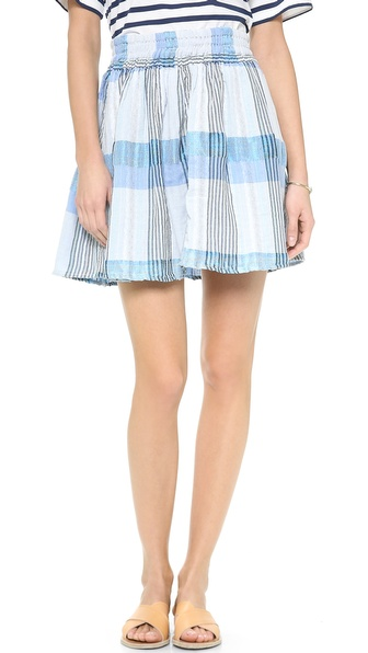 Ace&Jig Ra Ra Reversible Miniskirt - Meteor Rev. To Skylight at Shopbop / East Dane