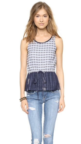 Ace&Jig Surf Tank - Argyle W/ Coast at Shopbop / East Dane