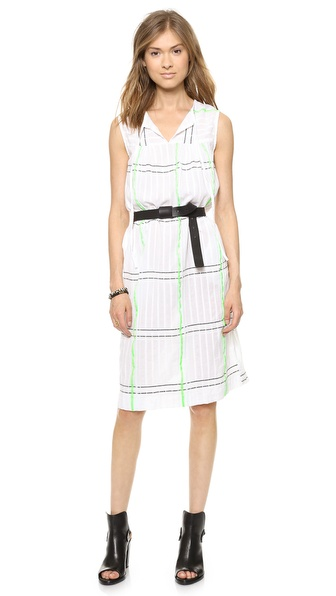 Ace&Jig Peasant Shift Dress - Windowpane at Shopbop / East Dane