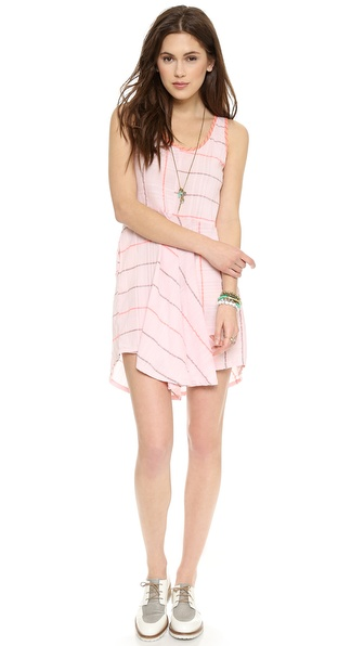 Ace&Jig Shimmy Mini Dress - Quartz at Shopbop / East Dane