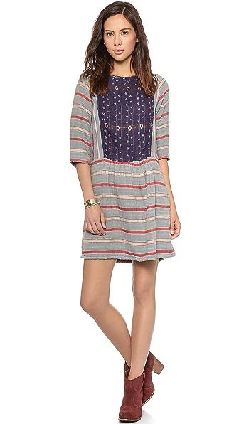 ace&jig Peasant Mini Dress
