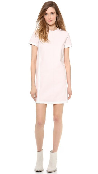 Acne Studios Maggie Leather Dress - Pastel Pink at Shopbop / East Dane