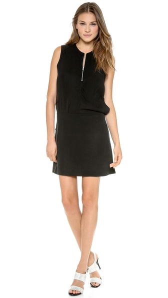 Acne Studios Twist Fluid Dress - Black at Shopbop / East Dane