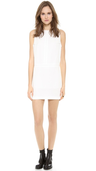 Acne Studios Tilda Fluid Mini Dress - Off White at Shopbop / East Dane
