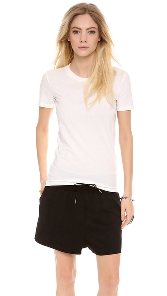 Acne Studios Bliss Generic T Shirt - White at Shopbop / East Dane