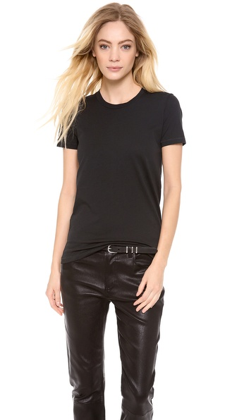 Acne Studios Bliss Generic T Shirt - Black at Shopbop / East Dane