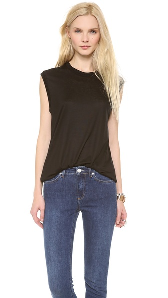 Acne Studios Zone Tank Top - Black at Shopbop / East Dane