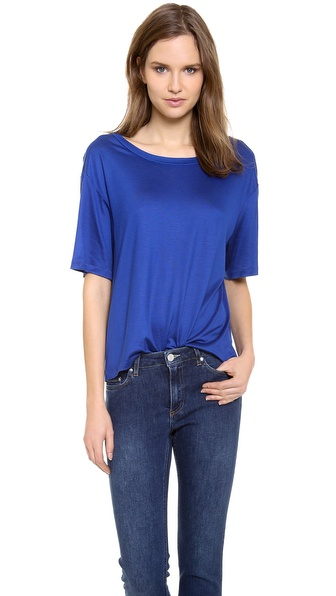 Acne Studios Wonder Boxy T-Shirt - Royal Blue at Shopbop / East Dane