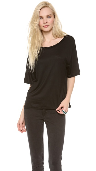 Acne Studios Wonder Boxy T-Shirt - Black at Shopbop / East Dane