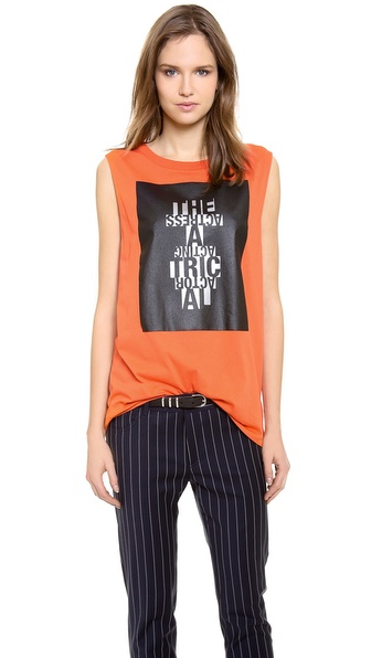Acne Studios Zony Theatre Printed Tank Top