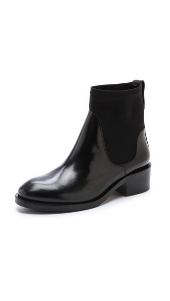 Acne Studios Comet Scuba Boots - Black at Shopbop / East Dane