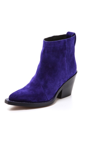 Acne Studios Donna Suede Boots - Klein Blue at Shopbop / East Dane