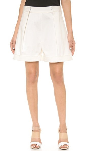 Acne Studios Sea Shorts - White at Shopbop / East Dane
