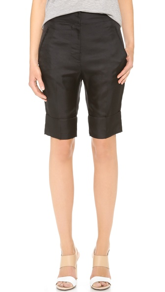 Acne Studios Saviour Shorts - Jet Black at Shopbop / East Dane