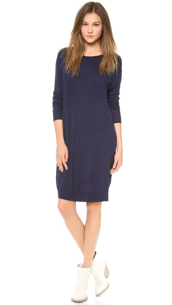 Acne Studios Knit Boat Neck Dress