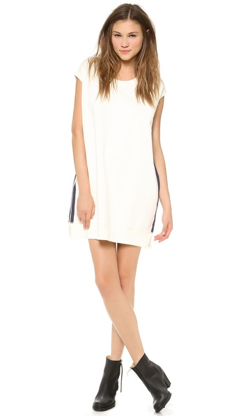Acne Studios Atlas Sweatshirt Dress - White at Shopbop / East Dane