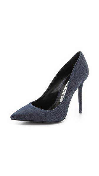 Acne Studios Alivia Denim Pumps - Denim at Shopbop / East Dane