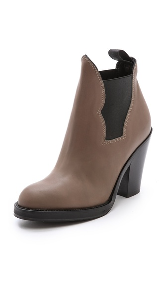 Acne Studios Star Ankle Boots - Khaki at Shopbop / East Dane