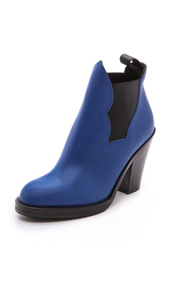 Acne Studios Star Ankle Boots - True Blue at Shopbop / East Dane